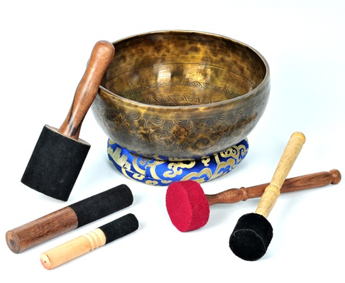 Singing bowl wiki, meditation in Nepal